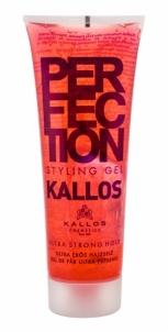 Plaukų želė Kallos Cosmetics Perfection Ultra Strong Hair Gel 250ml Plaukų modeliavimo priemonės