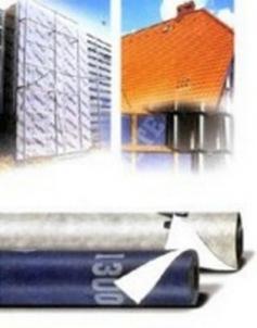 Plėvelė difūzinė Strotex 1300, 1,5m plotis, 135g/m2, 1700 g/m2/24 h