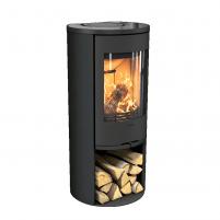 Plieninė krosnelė CONTURA 510:2 Style juoda sp. su stiklo viršum (komplektas:298072, 298097, 803325)