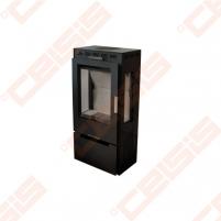 Plieninė krosnelė Vienybė SLIM (486x991,5x356) 4,5kW