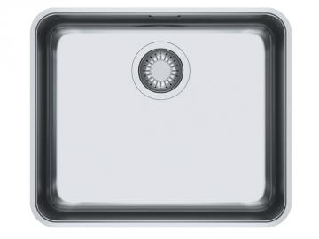 Plieninė plautuvė FRANKE ANX 110-48, ventilis ekscentrinis Nerudyjančio tērauda virtuves izlietnes