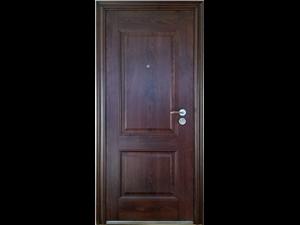 Tērauda durvis KS-M18 K86 2050 * 860 * 70 Golden Oak Metāla durvis