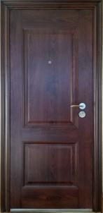 Plieninės durys KS-M18 K96 2050*960*70 Auksinis ąžuolas Metalinės durys