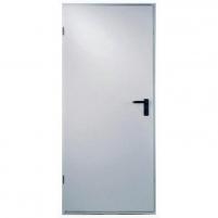 Plieninės durys UT401 900x2100 , kairinės, Baltos RAL 9010 Metalinės durys