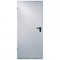 Steel doors UT401 900x2100, left hand, white RAL 9035