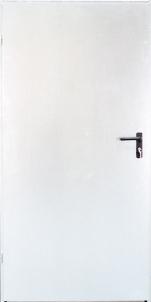 Plieninės techninės durys URAN 890x2090 kairinės /baltos sp(RAL9010) Metalinės durys