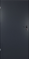 Plieninės techninės durys URAN 990x2090 (right hand)/antracito sp(RAL7016) Metal doors