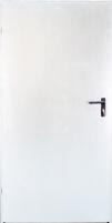 Plieninės techninės durys URAN 990x2090 kairinės /baltos sp(RAL9010) Metalinės durys