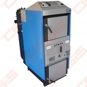 Plieninis dujų generacinis kieto kuro katilas AtmosAC 35 S; 20-35kW