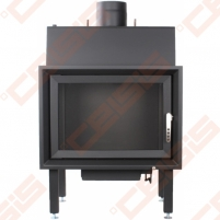 Plieninis židinio ugniakuras ROHEM EGRA 20; 20kW; (šilumokaitis 15kW) Židiniai, pirties krosnelės
