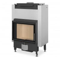 Plieninis židinio ugniakuras Romotop Dynamic DW2M01P 66.50.01P su šilumokaičiu