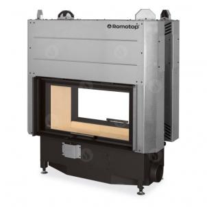 Plieninis židinio ugniakuras Romotop HEAT T HT3LF01 88.50.01 su dvejomis pakeliamomis durimis