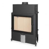 Plieninis židinio ugniakuras Romotop IMPRESSION 2G 80.60.01 atveriamomis durimis
