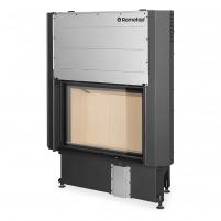 Plieninis židinio ugniakuras Romotop IMPRESSION 2G L 80.60 su pakeliamomis durimis