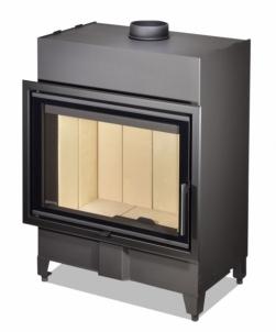 Plieninis židinio ugniakuras Romotop KV HEAT H2Z01 70.50.01 (gylis 490mm)
