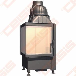 Plieninis židinio ugniakuras SCHMID EKKO L 45(45)45 S (495 x 1095 x 510); 3,2-7,1kW