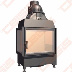 Plieninis židinio ugniakuras SCHMID EKKO L 67(45)45 S (715 x 1245 x 510); 3,4-9,8kW