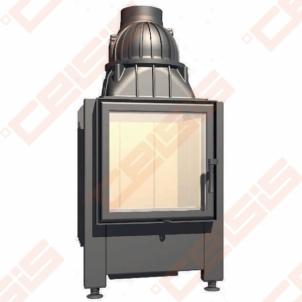 Plieninis židinio ugniakuras SCHMID LINA 4545 S (530 x 1095 x 500); 3,4-7,8kW Židiniai, pirties krosnelės