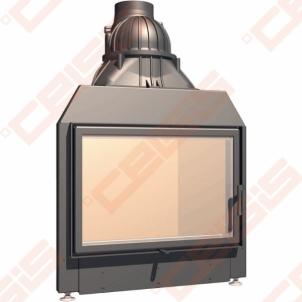 Plieninis židinio ugniakuras SCHMID LINA 7357 S (810 x 1275 x 500); 3,2-10,9kW