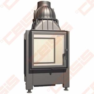 Plieninis židinio ugniakuras SCHMID LINA TV 4545 S (530 x 1095 x 500); 3,4-7,8kW Židiniai, pirties krosnelės