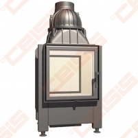 Plieninis židinio ugniakuras SCHMID LINA TV 7357 S (810 x 1275 x 500); 3,2-10,9kW