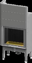 Plieninis židinio ugniakuras Spartherm Global 1Vh60