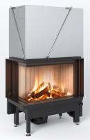 Plieninis židinio ugniakuras Spartherm Premium V-2L-68h, ø200 mm