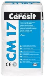 Adhesives for tiles Ceresit CM17 Super Flexble 25kg Adhesives for tiles
