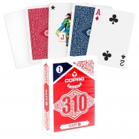 Pokerio kortos Copag 310 GAFF (raudonos)
