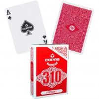 Pokerio kortos Copag 310 Svengali (raudonos) Žaidimai, kortos