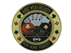 "Pokerio kortų saugas ""Are you Ready"""