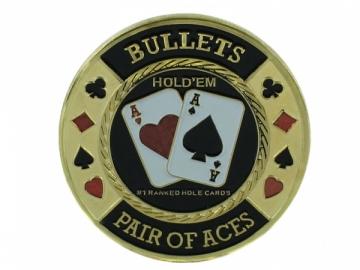 """Pokerio kortų saugas """"Bullets"""
