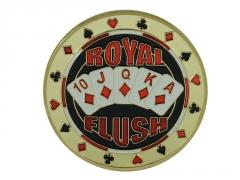 """Pokerio kortų saugas """"Royal Flush"""""""