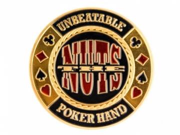 """Pokerio kortų saugas """"The Nuts"""""""