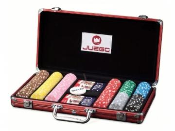 Pokerio rinkinys - Juego Poker 300 Žaidimai, kortos