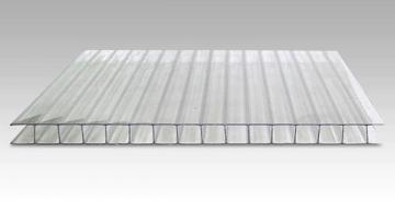 Polikarbonatas 4x1050x2000 mm skaidri PVC ir polikarbonato lakštai