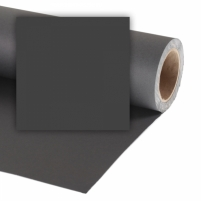 Popierinis fonas Colorama 2,72x11m Black