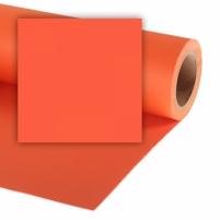 Popierinis fonas Colorama 2,72x11m Mandarin Studijas aksesuāri