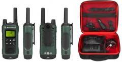 Portatyvios radio stotelės Motorola T81 Hunter , 10km, Green Racijos, CB radijo stotelės