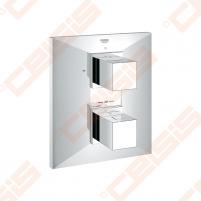 Potinkinio termostatinio vonios/ dušo maišytuvo dekoratyvinė dalis GROHE Allure Brilliant