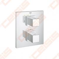 Potinkinio termostatinio vonios/ dušo maišytuvo dekoratyvinė dalis GROHE Grohtherm Cube