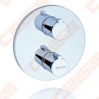 Potinkinio termostatinio vonios/dušo maišytuvo dekoratyvinė dalis RAVAK TE 061.00