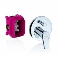 Potinkinis maišytuvas Neo su jungikliu, skirtas R-box Dušo maišytuvai