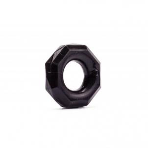 Power Plus penio žiedas Keturkampis (juodas) Bdsm dzimumlocekļa gredzeni