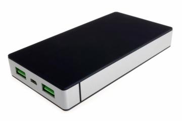 PowerNeed Sunen Nešiojamas įkroviklis 10000mAh, 2x USB; tablet, smartfon; juoda