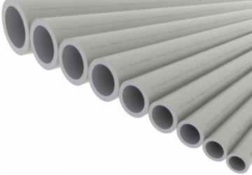 PPR lituojamas vamzdis STABI, d 20x3.0mm, PN20 Instalplast tubes