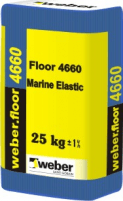 Marine elastic weber.floor 4660, 2-30mm 25 kg Levelling blends