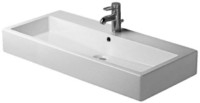 Washbasin 100 cm Vero white with,overflow 1hole