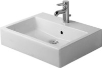 Washbasin 60 cm Vero white with,overflow and 1 t