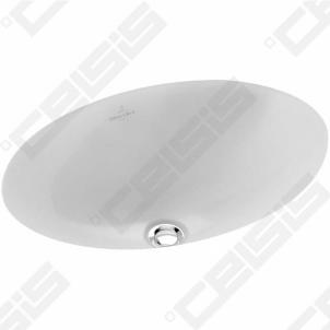 Praustuvas VILLEROY&BOCH Loop&Friend 485X325 mm montuojamas iš apačios su CeramicPlus danga